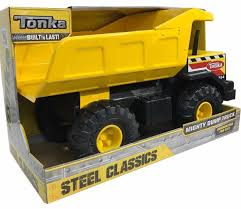 Tonka Steel Classics Mighty Dump Truck - Built To Last! – Gainmart ...