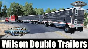 Wilson Double Trailers Pinga - American Truck SImulator » American ... Wilson Transportation Services Llc Need Some Opinions On Cb Antennas Gon Forum Photo Gallery Pride Polish Trucks Prepping Staging For Shdown The Bachmanwilson House Arrival In Arkansas Crystal Bridges Euro Truck Simulator 2 Kenworth K100 Livestock Trailer Grain Trailers Pack Fs17 Mods Nc County Fire Rescue Engine Sg Selling Trucks And With That Include 2004 Dodge Sale Classiccarscom Cc1085453 Volvo Unveils Autonomous 2hub Alexander 1972 Chevrolet Ck Cheyenne Sale Near Oklahoma