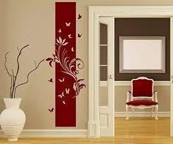 wandtattoo banner blumen ranke blätter floral deko