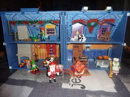 maison du pere noel playmobil playmobil noeil collection sur ebay