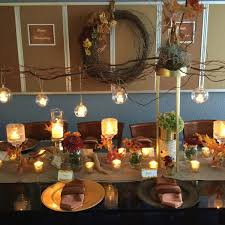Glass Candle Holder To Create Glowing Candlelight Table Centerpiece