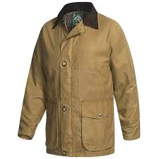 Oxford Blue Winchester Barn Coat Waxed Cotton For Men