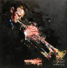 John Frusciante Curtains Zip by Chet Baker Painting By Massimo Chioccia And Olga Tsarkova