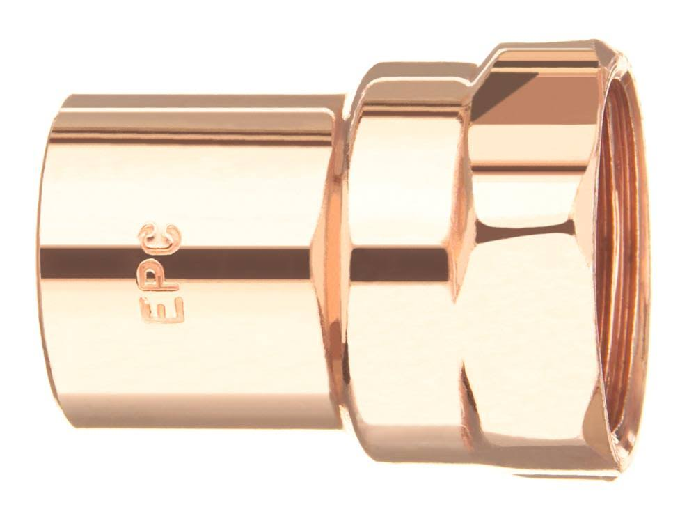 Elkhart Female Adapter - Copper, 0.75""