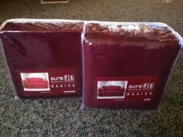 Sure Fit Sofa Cover 3 Piece by Living Room Surefit Sofa Covers Walmart Regarding Sure Fit