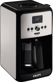 Krups Savoy Stainless Steel 12 Cup Glass Coffee Maker