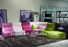 canapé couleur multi rond couleur canapé chaise moderne chesterfield sans bras