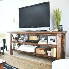 Tv Sofa Table Hand Crafted Rustic Barn Style Stand Entrance By Mayhem Furniture
