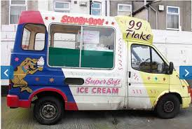 Filthy 'Scooby Doo!' Ice Cream Van Served UK Kids | Barfblog Creepy Ice Cream Truck Cruising My Neighborhood Album On Imgur Ice Cream Truck With Creepy Hello Song Youtube Stupid Trucks Song Paul Kopetko Design An Essential Guide Shutterstock Blog Mod The Sims Default Replacement Uber Offers On Demand Mister Softee Service In Philly Eater Linknyc Kiosks Are Playing A Jingle New Dark Icecream Stock Image Of Freezer Sweet How Kona Cracked Problem Cnbc Not News Vol Xiv Pitchers Hit Eighth