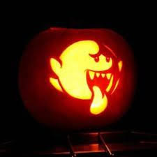 Mario Pumpkin Carving Templates Free by Super Mario Bros Boo Pumpkin Carving On Global Geek News Gaming