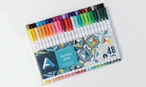 Triangle Shaped Drawing Pens For Adult Coloring Books Fineline