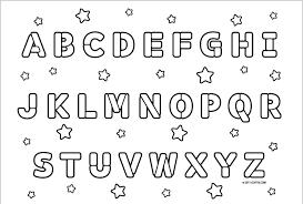 Coloring Pages Abc Unique Alphabet Pdf