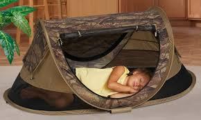 kidco peapod plus children s travel camo bed groupon