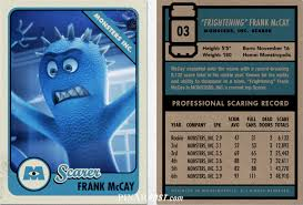 Disney Store Scares Up An by Monsters University Scare Cards The Complete Guide Pixar Post