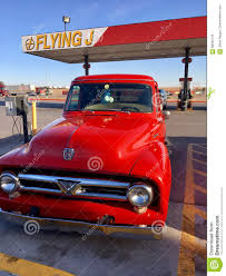 100 Flying J Truck Stop Near Me Red Parked At A Gas Editorial Stock Image