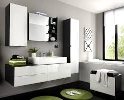 waschbecken unterschrank bad schrank weiß hochglanz grau