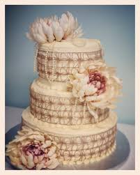 Rustic Lace And Flowers