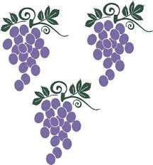 Grape Wall Decor For Kitchen by Grapes Fruit Wall Stickers Vinyl Kitchen Decor Decal Ebay