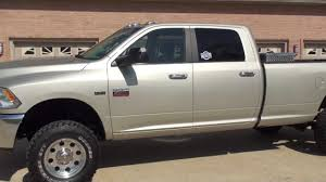 HD VIDEO 2010 DODGE RAM 2500 HEMI V8 GAS 4X4 LIFTED LONG BED FOR ...