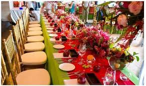 Wedding Planning And Ideas Indian Table Decoration