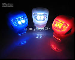 Discount Bicycle Bike Led Silicone Frog Caution Lights Warning