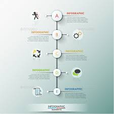 Process Infographic Template Modern Andrewkras Graphicriver Free