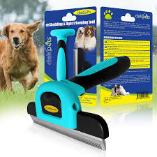 Non Shedding Small Dogs Australia by Deshedding Tool U0026 Pet Grooming Brush For Small Medium U0026 Large