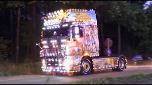 100 Master Truck Opole Poland Show 2018 With Scania V8 Open Pipes