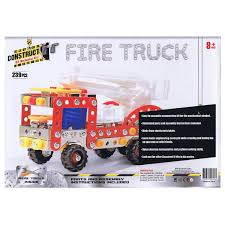 Construct-I! Fire Truck 239 Piece Kit – Daves Deals Ssb Resins Amazoncom Lego City Fire Station 60004 Toys Games And Stuff National Motor Museum Mint 1886 American Lafrance Truck Parts Replacement Apparatus Build Play Kit Brie Blooms Works Of Ahh Wood Paint Kitfire Amazoncouk Learning Street Vehicles For Kids Cstruction Game Airfix 1914 Dennis Engine Slot Car Motsport For Block Tech Model Kits At The Brick Castle Revell Junior Stage 1 1911 The Christie Steam