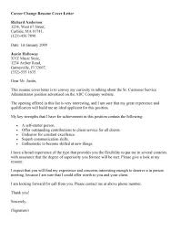 Best Persuasive Career Change Cover Letter 27 With Additional Regarding 5970