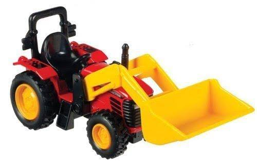 Fisher-Price Pull-Back Tractor With Scoop - 6''