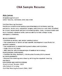 Objective On A Cna Resume Examples And Excellent Ideas Skills List For Objectives Templates