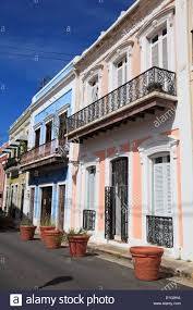 Colonial Architecture Old San Juan Puerto Rico West Indies Caribbean United States Of America Central