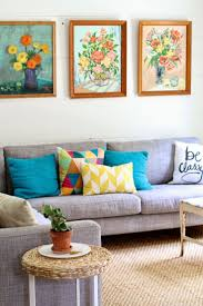 Orange Grey And Turquoise Living Room by Best 25 Bright Pillows Ideas On Pinterest Mexican Style Decor