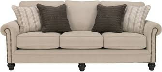 Transitional Roll Arm Sofa Bed