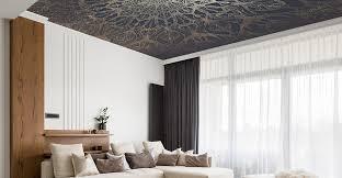decke tapezieren der bimago interior