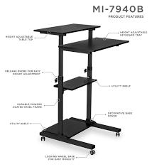 Jesper Office Adjustable Desk by Height Adjustable Desks