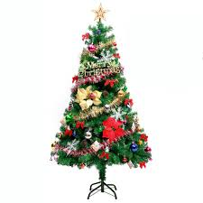 7ft Fibre Optic Christmas Tree Ebay by 7ft Christmas Tree Luxury Boxed Traditional Forest Green With