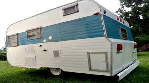 Tiny House Vintage Camper Trailer Simply Chic Interior