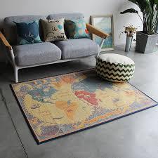 table basse pour chambre creative carte du monde tapis pour salon nouveau moderne tapis