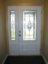 Front Door Side Window Curtain Panels by Excellent Front Door Window Panel Galleries Curtain Homely Design