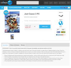 Pre-Order Just Cause 3 (PC) $26 Via CDKeys - Deal Graveyard ... Cdkeyscom Home Facebook Vality Extracts Shipping Discount Code Hp Ink Cd Keys Coupon Uk Good Deals On Bucket Hats 3 Off Cdkeys Discount Code 2019 Coupon Codes 10 Gvgmall Promo Promotion 2018 Primo Cubetto Punkcase Scdkeyexclusive For Subscribersshare To Reddit Coupons Steam Prestashop Sell License Twitter Game Httpstcos8nvu76tyr