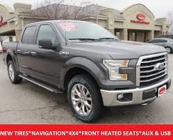 2015 Used Ford F-150 XLT Chrome Package Crew Cab 4x4 20