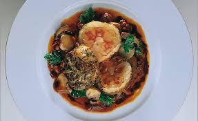 cuisiner les rognons de veau de veau confit dans sa graisse chignons des bois par alain ducasse