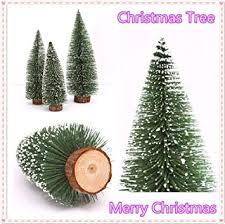 Lovewe Mini Christmas TreeStick White CedarDesktop Small Tree For