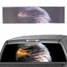 American Flag Bald Eagle Car Rear Window Graphic Decal Stickers For ... Tampa Fl Mobile Advertising Rear Window Truck Graphics For Ford Graphic Decal Sticker Decals Custom For Cars Best Resource Realtree Camo 657332 Related Keywords Suggestions Stairway To Heaven Nw Sign Solutions See Through Perforation Fort Lauderdale American Flag Better Elegant Vuscape Made In Michigan Chevy Fire Car Suv Grim Pick Up