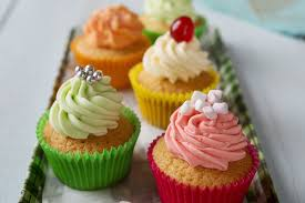Cupcakes With Buttercream Icing