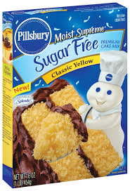 Pillsbury Sugar Free Yellow Cake Mix 16 OZ Maharaja Foods