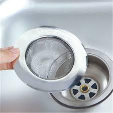 Mesh Sink Strainer With Stopper by 2 Kitchen Bathroom Steel Mesh Sink Strainer Drain Shower Trap