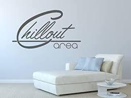 wandtattoo bilder wandtattoo chillout area nr 1 chillen relaxen wohnzimmer wanddeko dekoration wohnideen größe 60x33 farbe braun